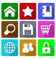 Web Icons Set 1 vector image vector image