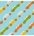 Seamless pattern with cars vector image vector image