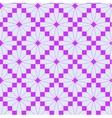 Pink knitting pattern vector image vector image