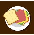 Design of sandwich vector image