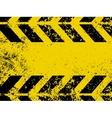 worn hazard stripes vector image