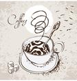 figure cups vector image vector image