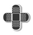 medical bandage aid vector image
