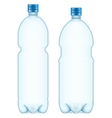 Plastic bottles EPS 10 vector image