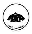 Bush pumpkin icon vector image