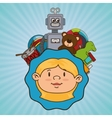 kids and toys design vector image
