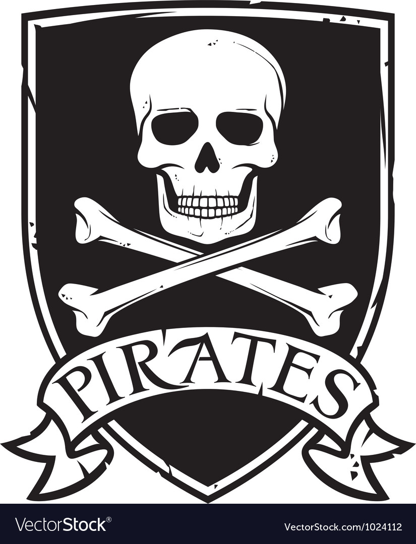 Pirates emblem vector