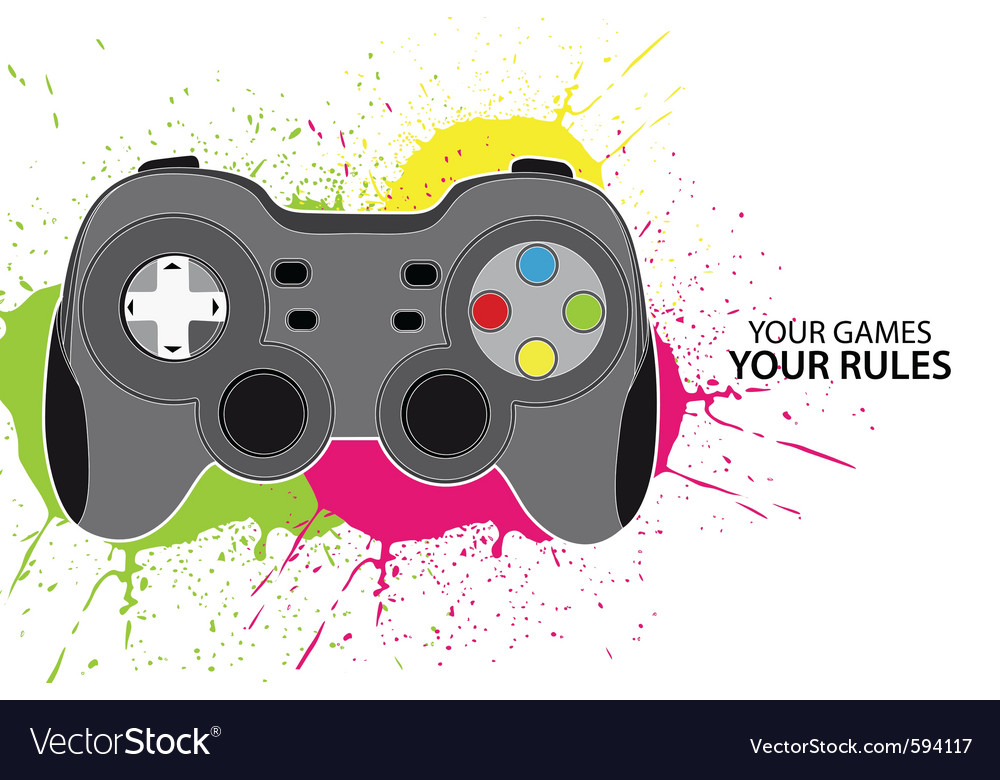 Pc or console controller vector