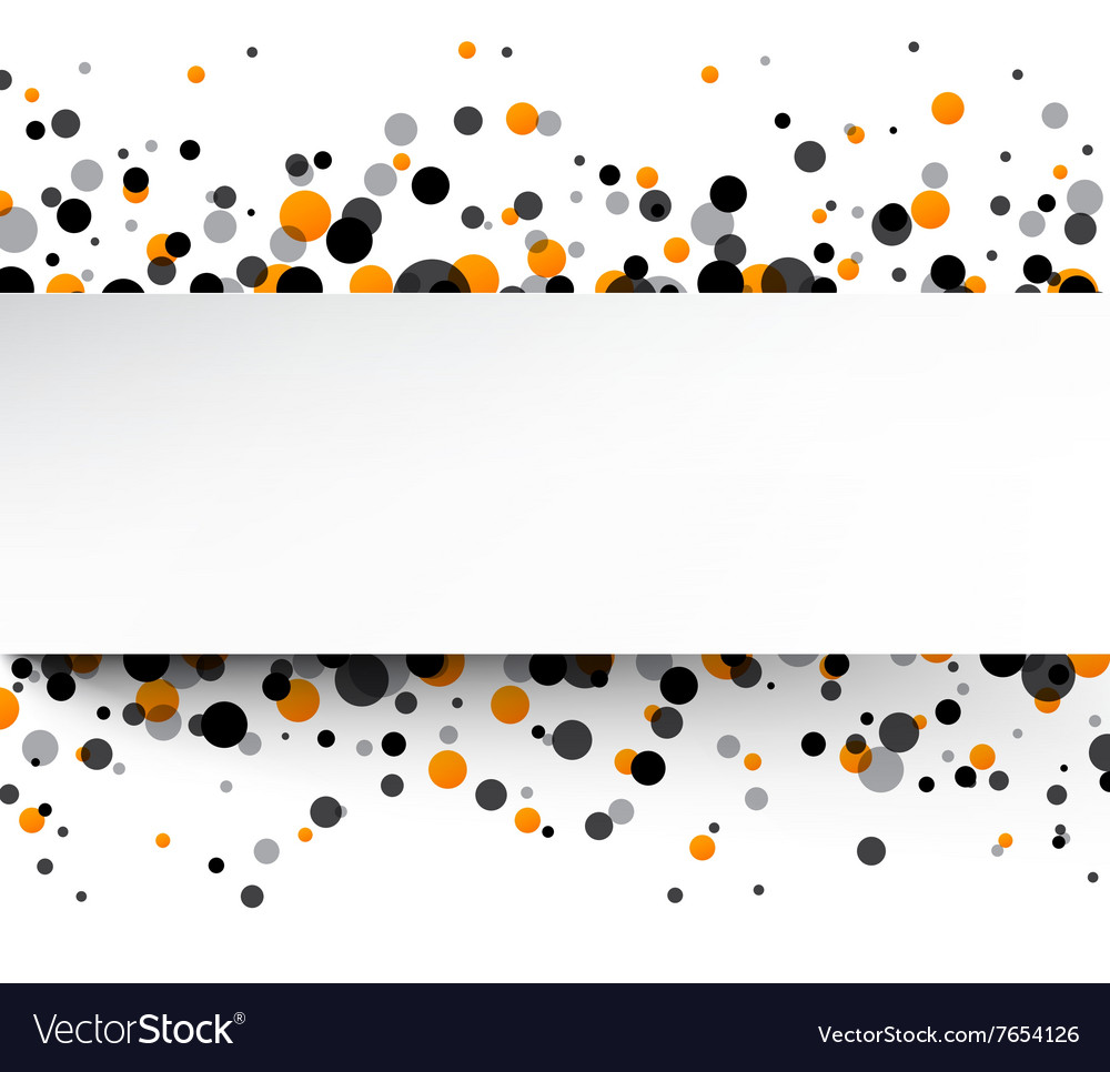 Background with colour drops vector