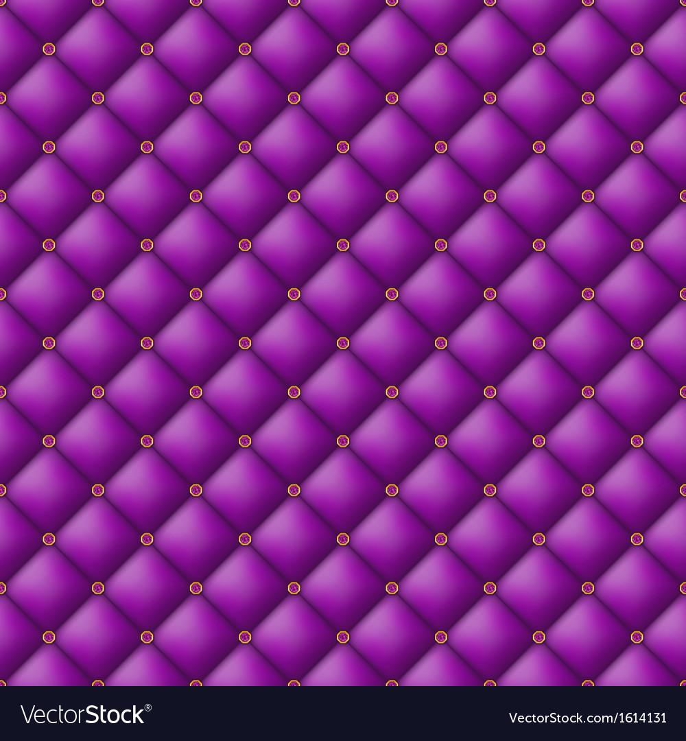 Buttontufted leather background vector