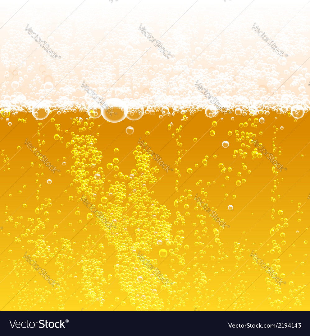 Beer background vector