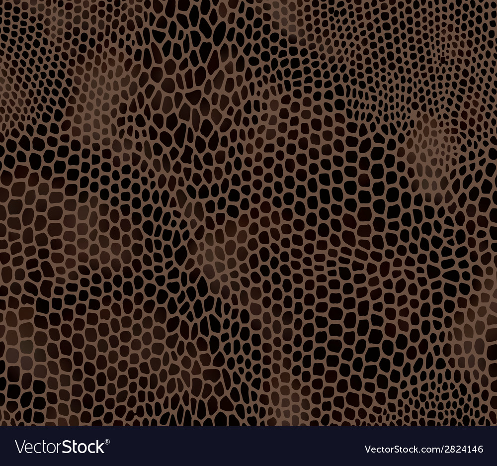 Seamless structured snake skin vector