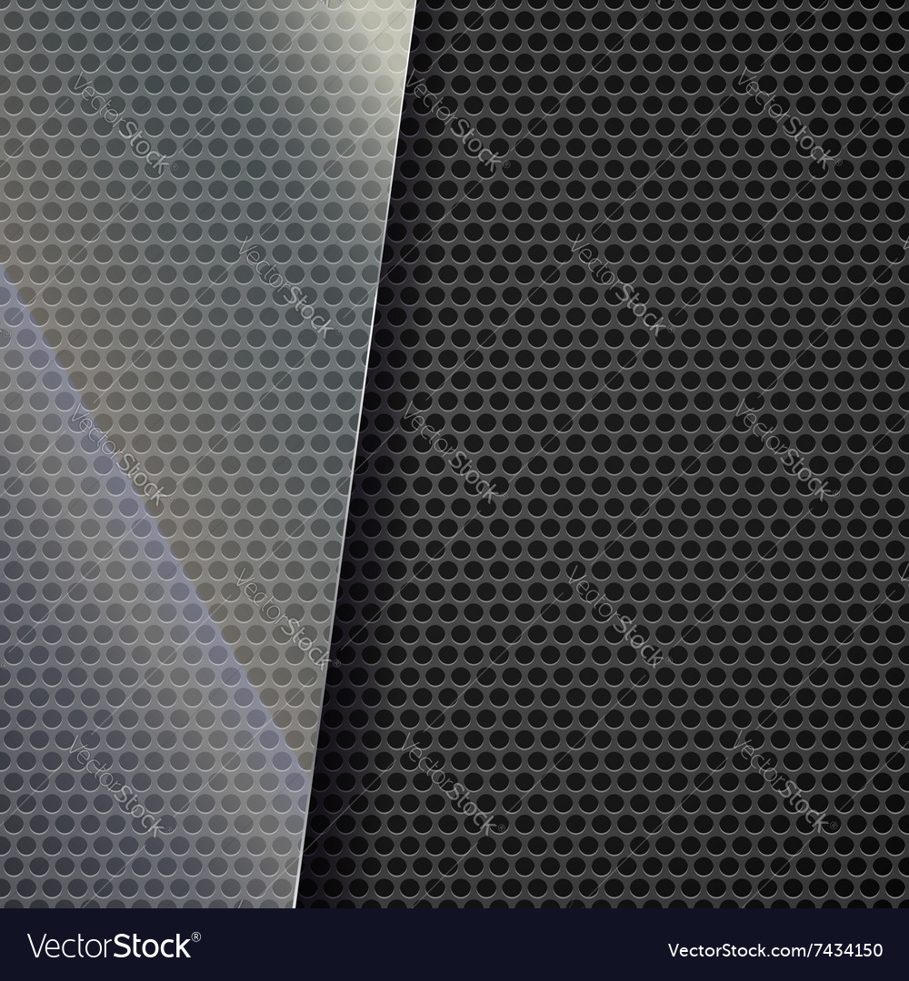 Metallic mesh background vector