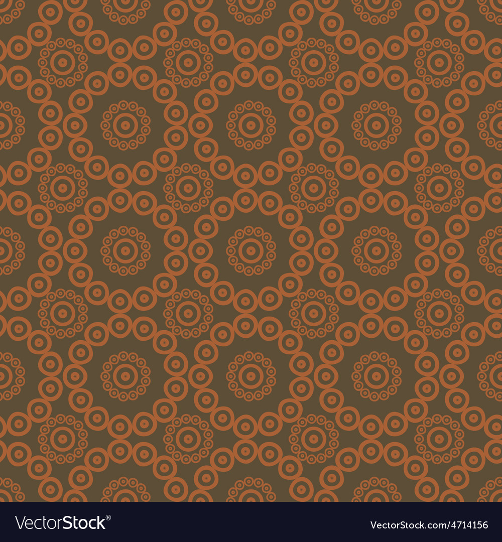 Pattern seamless brown background vector