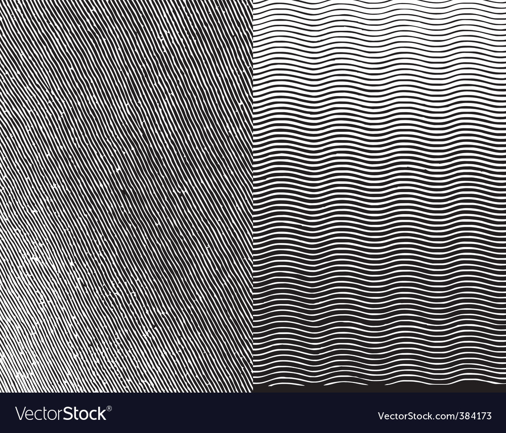 Engraving texture vector