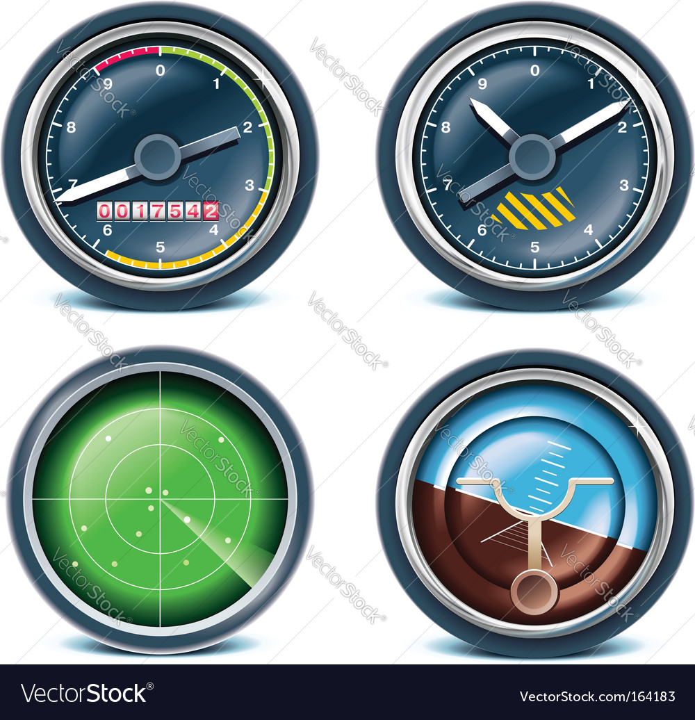 Travel and vacations icons vector