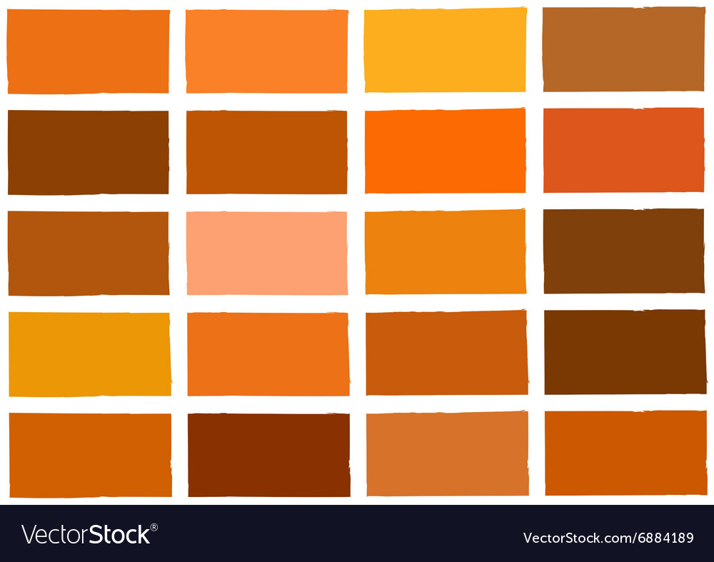 Orange tone color shade background vector
