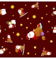 Seamless pattern Merry Christmas and Happy New vector image
