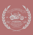 Motorcycle vintage graphics t-shirt typography vector image