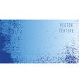 grunge blue texture vector image