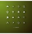 Arrows Buttons Set vector image