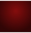 Red background with small hearts vector image vector image