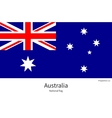 National flag of Australia with correct vector image
