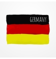 Germany flag vector image