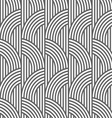 Geometric striped seamless pattern vector image vector image