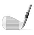 golf 25 vector image
