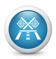 Race Competition glossy icon vector image vector image
