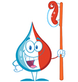 Smiling Tooth Paste Cartoon Mascot vector image vector image