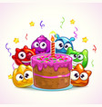 funny birthday vector image