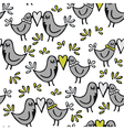 Bird backgrounds vector image vector image