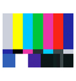Test card vector