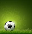 Soccer ball design vector image vector image