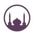 arabic architecture symbol vector image