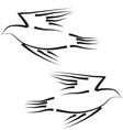 peace dove concept vector image vector image