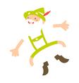 alpine man vector image