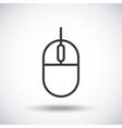 Mouse Silhouette icon design graphic vector image
