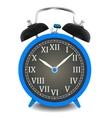 Realistic of wall clock vector image