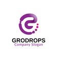 Grodrops Design vector image