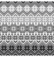 Nordic snowflake pattern vector image
