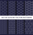 eastern style pattern pack vector image