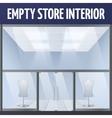 Empty story interior vector image