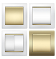 light switches vector image