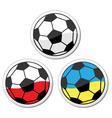 Euro 2012 Football Championship - Poladnd Ukraine vector image