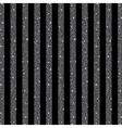 Parallel Vertical lines Silver sequins Stars vector image