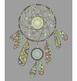 Decorative dream catcher vector image vector image