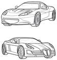 car6 vector image